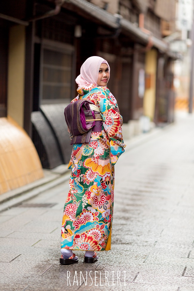Pengalaman Menyewa Kimono di Yumeyakata Kyoto Jepang - ranselriri