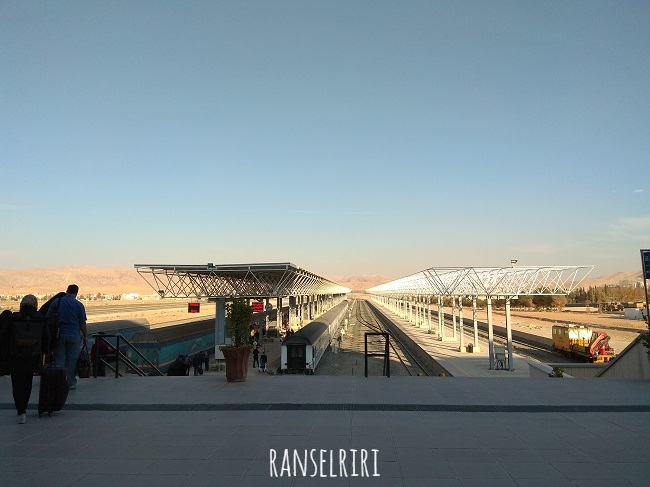 Shiraz Railway Station - ranselriri 4