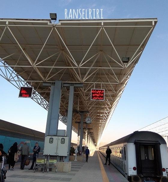 Shiraz Railway Station - ranselriri 5 - ranselriri