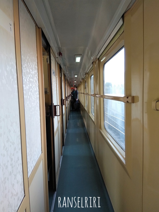 Sleeper train di Iran - ranselriri 2